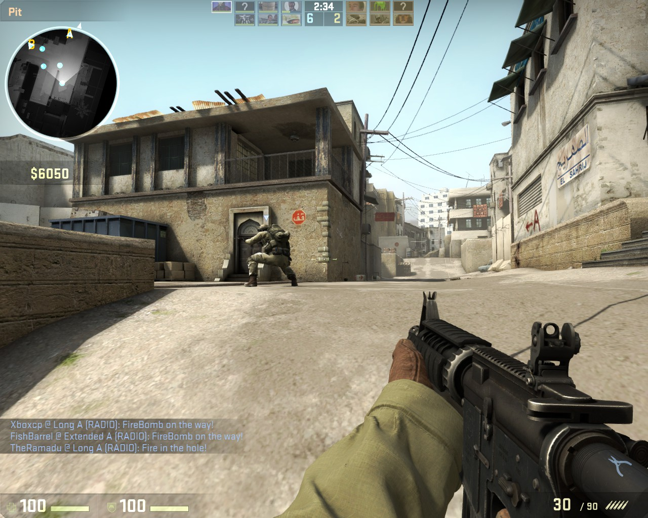 Online Counter Strike Dust oyunu